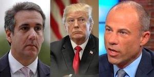 Cohen, Trump and Avenatti